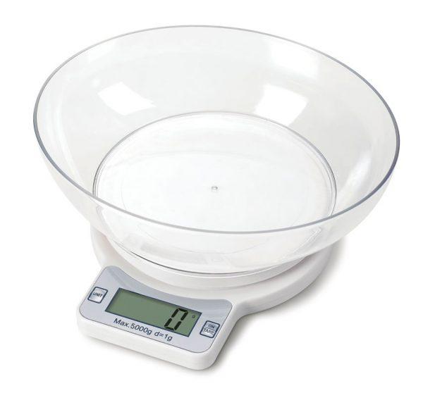 Balança digital pesadora com tigela - EASY-5