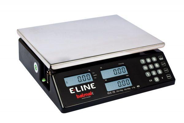Balança Digital Elc-6/15/30bs E-line-balmak-30 Kg Rs232+bat