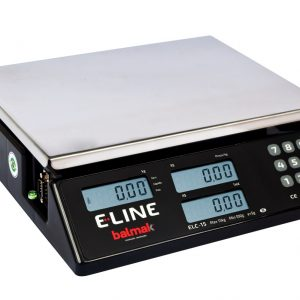 Balança Digital Elc-15bs E-line-balmak-15 Kg Rs232+bat