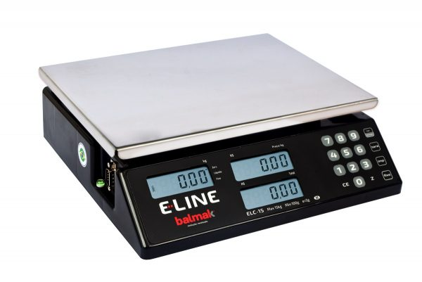Balança Digital Elc-15bs E-line-balmak-15 Kg Rs232+bat