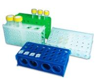 Rack Retangular Com Quatro Faces Para Difer Tubos E Microt