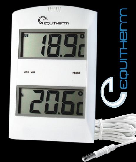 Termômetro Digital De Máxima E Mínima Equitherm Tm882