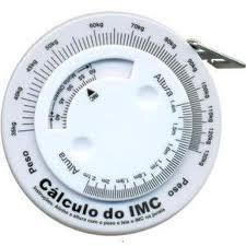 Trena Antropométrica para circunferência e medição em linha reta Wiso R88