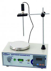 Agitador Magnetico Com Aquecimento - 2 Litros - 220v Hj3