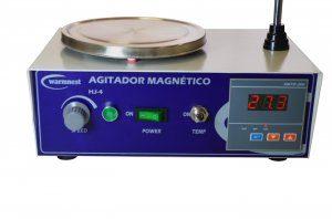 Agitador Magnetico COM aquecimento - 4 litros - HJ-4 -110 v
