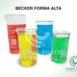 Becker Forma Alta Gtbfa-400 400 Ml Borossilicato