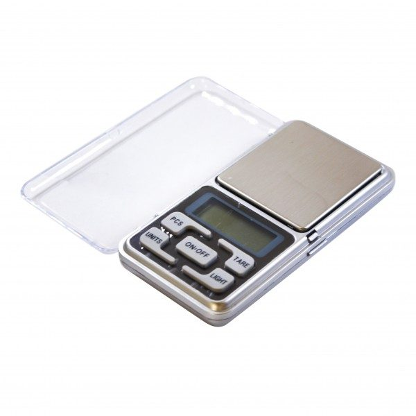 Balança Mini Portátil Digital 500g x 0,1g MH-500