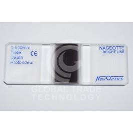 Câmara De Contagem Nageotte Melhorada Espelhada New Optics