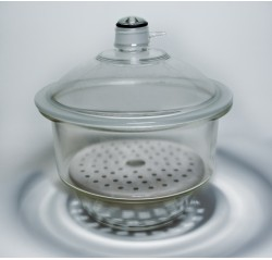 Dessecador Em Vidro C/tampa, Luva E Disco - 210 Mm - Phox