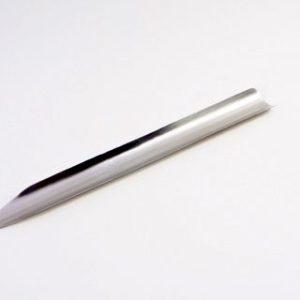 Espátula Canaleta em Aço Inox - 20 cm cod 066-5