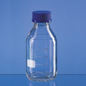 Frasco Reagente Em Vidro Boro 3.3 Com Tampa Rosca - 2000 Ml