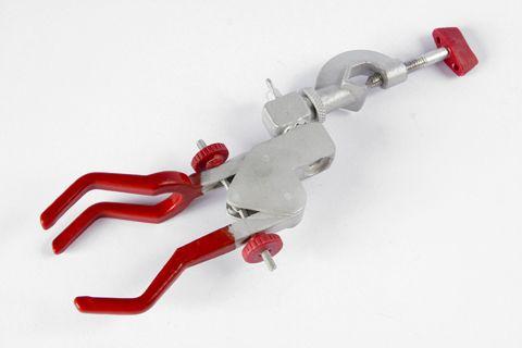 Pinça P/ condensador c/mufa 3 dedos giratoria cod 118-b