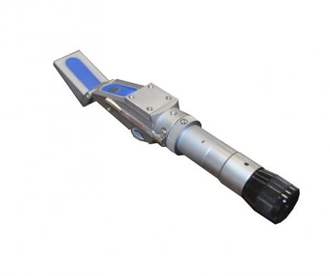 Refratômetro Manual - Escala Brix - Medição - 0-90%BRIX - Megabrix