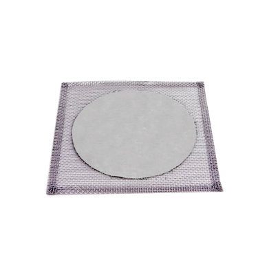 Tela De Arame Galvanizado, C/disco Refratario, 16x16cm Cod 001-4