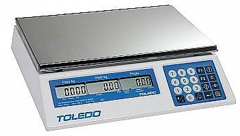 Balança Toledo 3400 10 kg x 2g com bateria