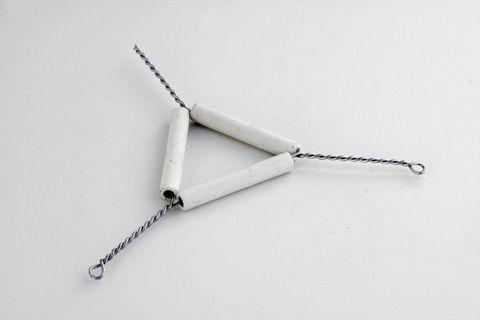 Triangulo em Arame 8 cm para cadinho