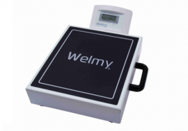 Balança Digital Portátil 200Kg. Com Bateria Recarregável W200M - Welmy